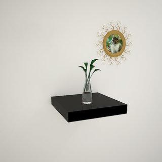Decoration Shop Floating Shelves Black Single