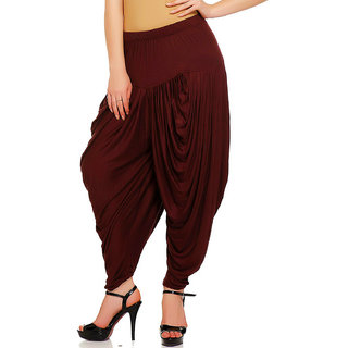 Women,Maroon patiala Dhoti salwar