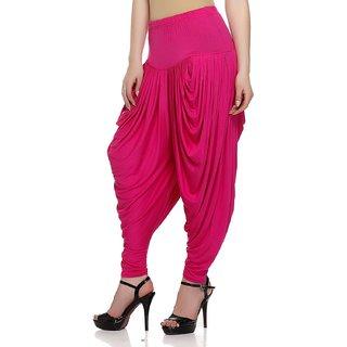 Women,Pink patiala Dhoti salwar