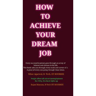 How To Achieve Your Dream Job