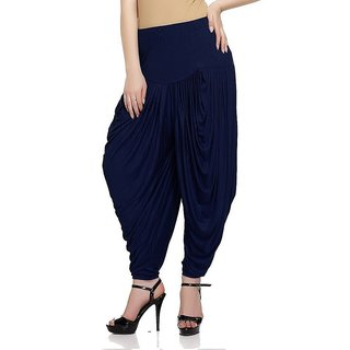 Women,Navy patiala Dhoti salwar