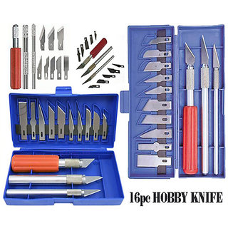 26pc Hobby Knife Set Great for Crafts with Many Uses