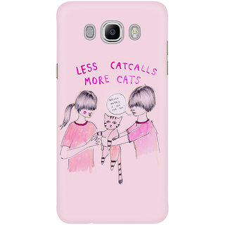 Dreambolic Less Catcalls More Cats Mobile Back Cover