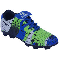 Feroc Blue Grand Rubber Football Shoes