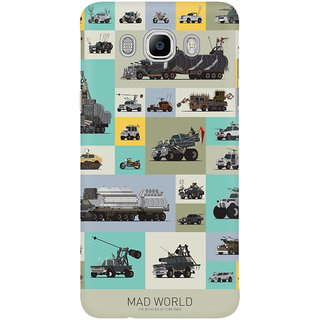 Dreambolic Mad World Mobile Back Cover