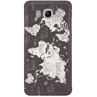 Dreambolic The World Map Mobile Back Cover