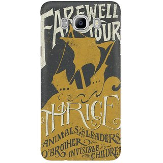 Dreambolic Thrice Farewell Tour Alternate Limited Mobile Back Cover