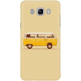 Dreambolic Yellow Van Mobile Back Cover