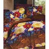 Furnix Platinum Double Bed Sheet With Two Pillow Covers D.No. 152