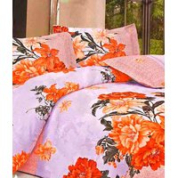 Furnix Platinum Double Bed Sheet With Two Pillow Covers D.No. 3158