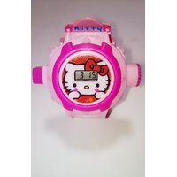 Hello Kitty Watch 24 Image Projection Watch For Kids Pink