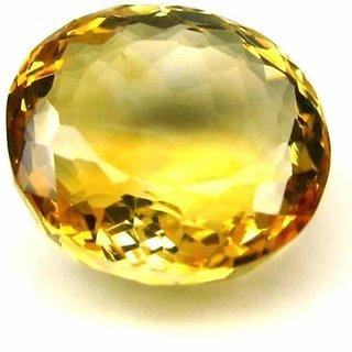 7.25 Ratti Natural Oval Citrine GLI Certified Gemstone UNITVASCITR05