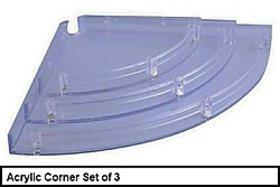 Acrylic Corenr Complete Set of 3