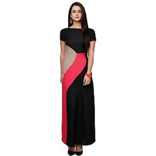 VM Women Black Maxi Dress