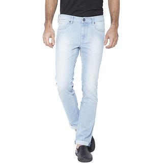 Flying Machine Slim Fit Men's Light Blue Jeans