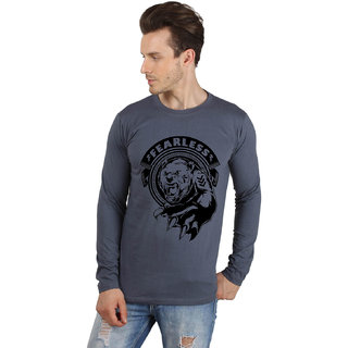 SayItLoud Men's Printed Full Sleeve T Shirt