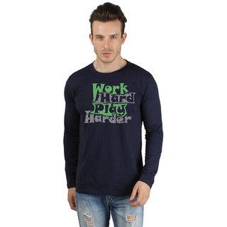 SayItLoud Men's Printed Full Sleeve T Shirt
