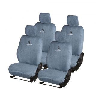 Pegasus Premium Grey Cotton Car Seat Cover For Renault Fluence