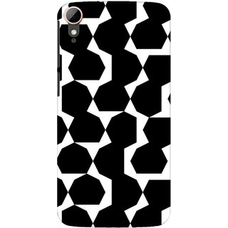 Pick Pattern Back Cover for HTC Desire 828 dual sim (MATTE)
