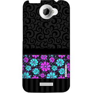 Pick Pattern Back Cover for HTC One X