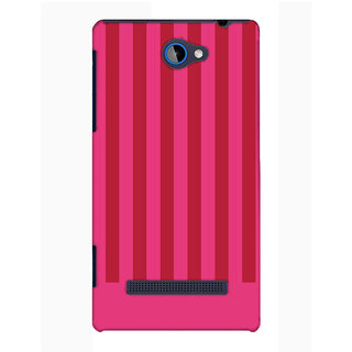 Pick Pattern Back Cover for HTC Windows Phone 8S (MATTE)