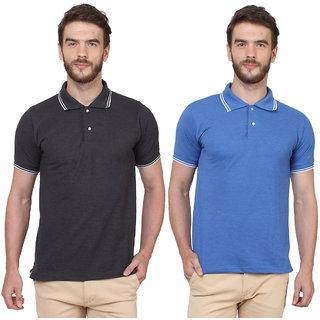 SayItLoud Men's Polo T Shirt Pack of 2