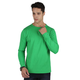 SayItLoud Men's Solid Full Sleeve T Shirt