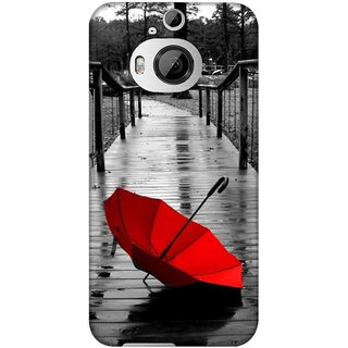 Pick Pattern Back Cover for HTC One M9 Plus (MATTE)