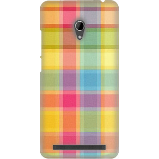 Pick Pattern Back Cover for Asus Zenfone 6 A600CG (MATTE)