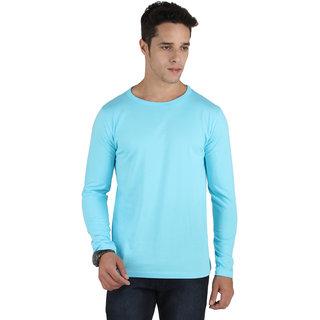 SayItLoud Men's Solid Full Sleeve T Shirt