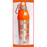 """Sports Steel Insulated """"good Day"""" Water Bottle For Home Office Bottle 900 ML"""