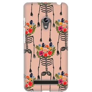 Pick Pattern Back Cover for Asus Zenfone 5 A500CG (MATTE)