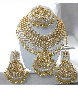 Silver or Gold Kundan jewellery On order