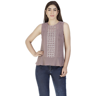 Sequinned Quail Top