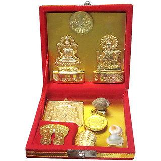Shri Dhan Laxmi- Kuber Dhan Varsha Yantra - Wooden Pack