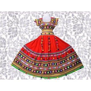 Red Lehenga Choli Set for Women