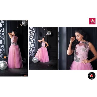 Fashion Women's Net Anarkali Gown