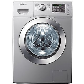 Samsung 6 Kg Front Loading Automatic Washing Machine  WF602B2BHSD, White  Washing Machines