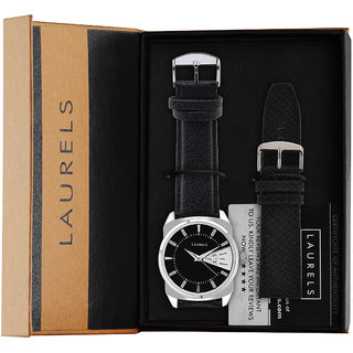 Laurels Lo-Inc-202 Invictus Analog Watch (Lo-Inc-202)