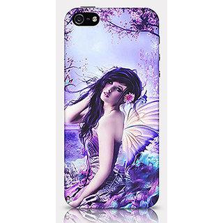 Crazyartshop Fairy Case F01 Designer Back Case Cover for iPhone 5/5s