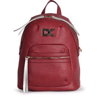 Diana Korr Maroon Backpack