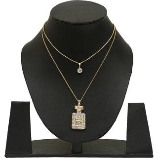 Gm International Golden Colour New Design Brass Neckless For Women