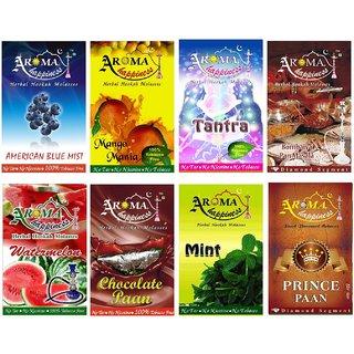 Desi Karigar Aroma Happiness Assorted Hookah Flavor - Pack of 8