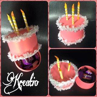 Handmade Cake Gift  Box