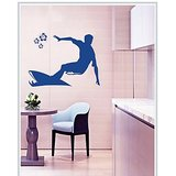 Gloob Decal Style Surfing Wall Sticker (64*40)