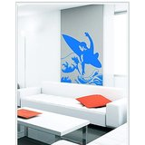 Gloob Decal Style Surffer Wall Sticker (24*34)