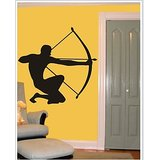 Gloob Decal Style Archery Wall Sticker (30*30)