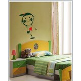 Gloob Decal Style For Kids Room Cartoon Wall Sticker (12*20)