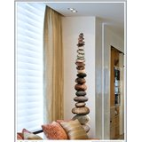 Gloob Decal Style Stone Wall Sticker (13*71)