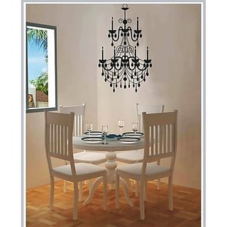 Gloob Decal Style Chandelier Wall Sticker (16*21)